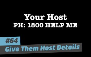 101 Ways to Elevate – #64 Give them host details